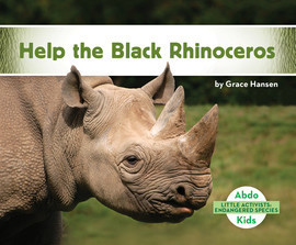 Cover: Help the Black Rhinoceros