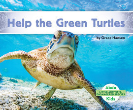 Cover: Help the Green Turtles