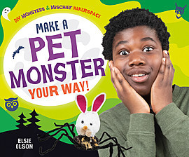 Cover: Make a Pet Monster Your Way!