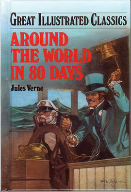 Cover: Around The World In 80 Days