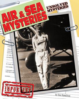 Cover: Air & Sea Mysteries