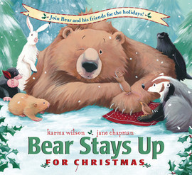 Cover: Bear Stays up for Christmas