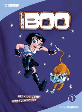 Cover: Agent Boo Vol. 1: The Littlest Agent