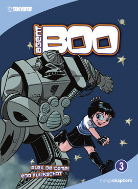 Cover: Agent Boo Vol. 3: The Heart of Iron