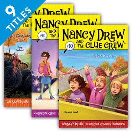 Cover: Nancy Drew & the Clue Crew Set 2