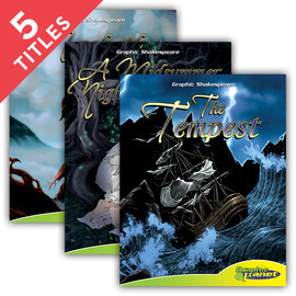 Cover: Graphic Shakespeare Set 1