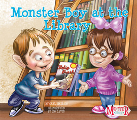 Cover: Monster Boy at the Library