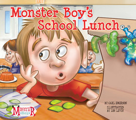 Cover: Monster Boy's School Lunch
