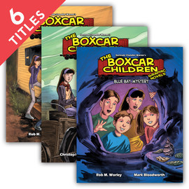 Cover: Boxcar Children Graphic Novels Set 1