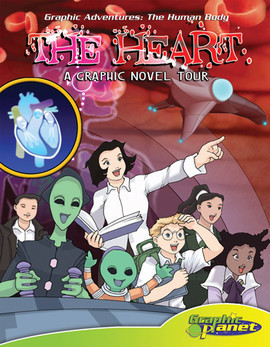 Cover: Heart:A Graphic Novel Tour
