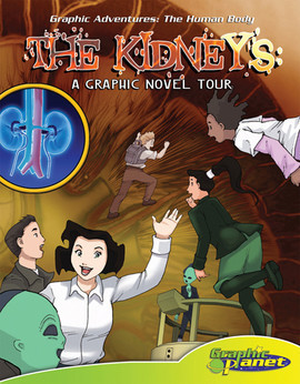 Cover: Kidney:A Graphic Novel Tour