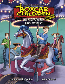 Cover: Book 10: The Amusement Park Mystery