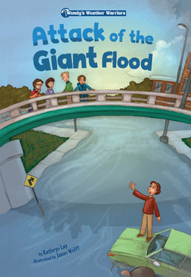 Cover: Attack of the Giant Flood: Book 5
