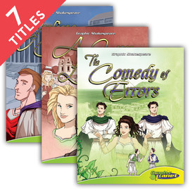 Cover: Graphic Shakespeare Set 2