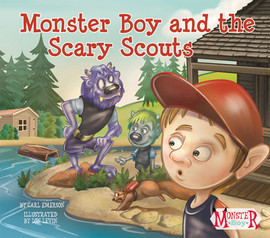 Cover: Monster Boy and the Scary Scouts