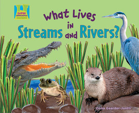 Cover: What Lives in Streams and Rivers?