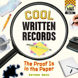 Cover: Cool Written Records: The Proof is in the Paper