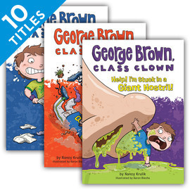 Cover: George Brown, Class Clown