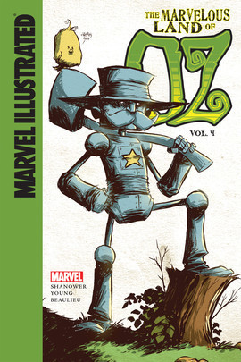 Cover: Marvelous Land of Oz: Vol. 4