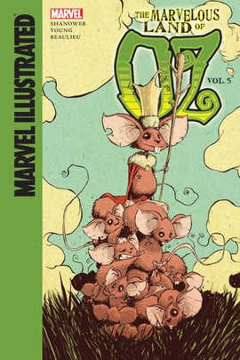 Cover: Marvelous Land of Oz: Vol. 5