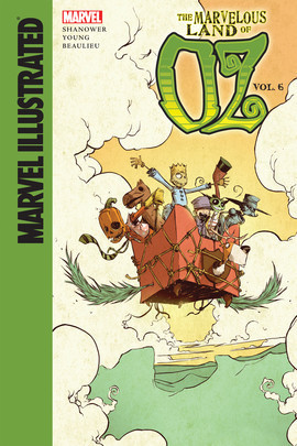 Cover: Marvelous Land of Oz: Vol. 6