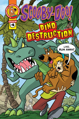 Cover: Scooby-Doo Comic Storybook #4: Dino Destruction