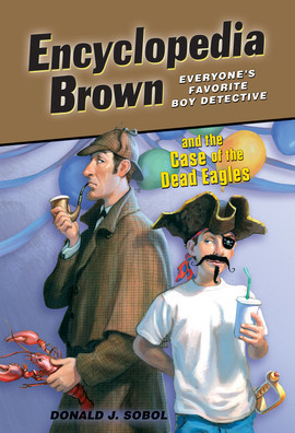 Cover: Encyclopedia Brown and the Case of the Dead Eagles