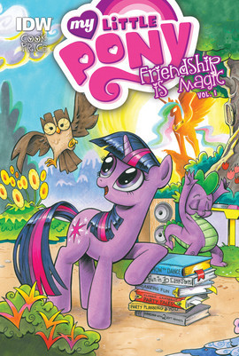 Cover: My Little Pony: Friendship is Magic: Vol. 1