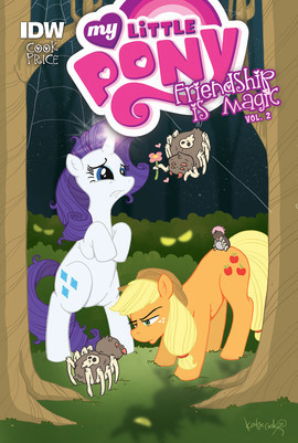 Cover: My Little Pony: Friendship is Magic: Vol. 2