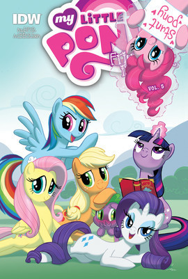 Cover: My Little Pony: Friendship is Magic: Vol. 5