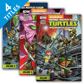 Cover: Teenage Mutant Ninja Turtles: New Animated Adventures