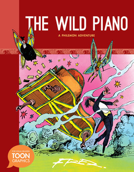 Cover: Wild Piano: A Philemon Adventure