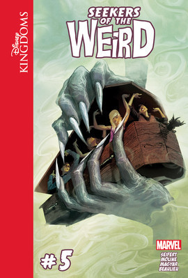 Cover: Disney Kingdoms: Seekers of the Weird #5