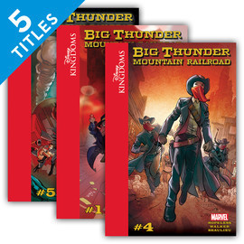 Cover: Disney Kingdoms: Big Thunder Mountain Railroad
