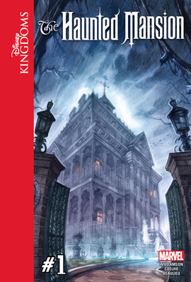 Cover: Disney Kingdoms: The Haunted Mansion #1