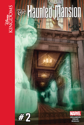 Cover: Disney Kingdoms: The Haunted Mansion #2