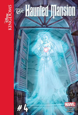 Cover: Disney Kingdoms: The Haunted Mansion #4