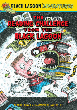 Cover: The Reading Challenge from the Black Lagoon