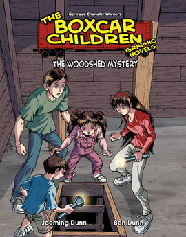 Cover: Book 13: The Woodshed Mystery