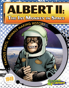 Cover: Albert II: 1st Monkey in Space