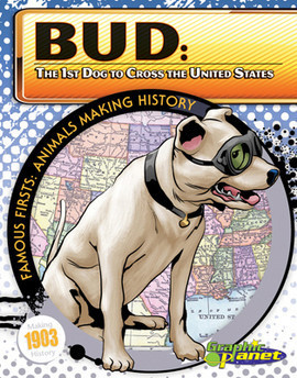Cover: Bud: 1st Dog to Cross the United States
