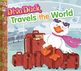 Cover: Diva Duck Travels the World