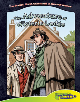 Cover: Adventure of Wisteria Lodge