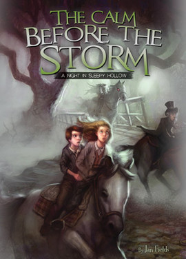 Cover: Calm Before the Storm: A Night in Sleepy Hollow Book 2