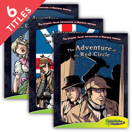 Cover: Graphic Novel Adventures of Sherlock Holmes Set 3