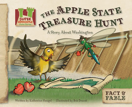 Cover: Apple State Treasure Hunt: A Story about Washington