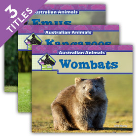Cover: Australian Animals