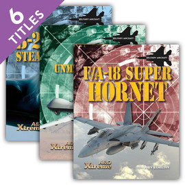 Cover: Xtreme Military Aircraft Set 1