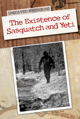Cover: Existence of Sasquatch and Yeti