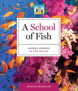 Cover: School of Fish: Animal Groups in the Ocean